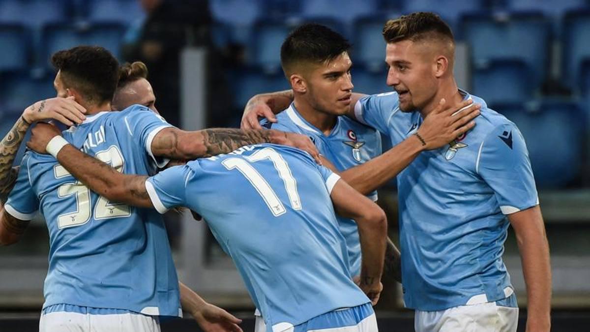 Quarta di fila per la Lazio: 4-2 al Lecce con Correa, Milinkovic e ...