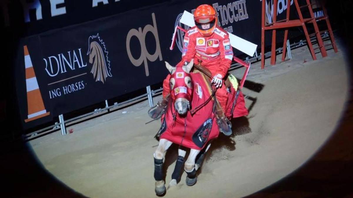 Gina Schumacher show a Verona in sella al... Cavallino - La Gazzetta dello Sport