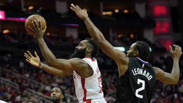 James Harden, 30 anni, a Houston dal 2012. Ap