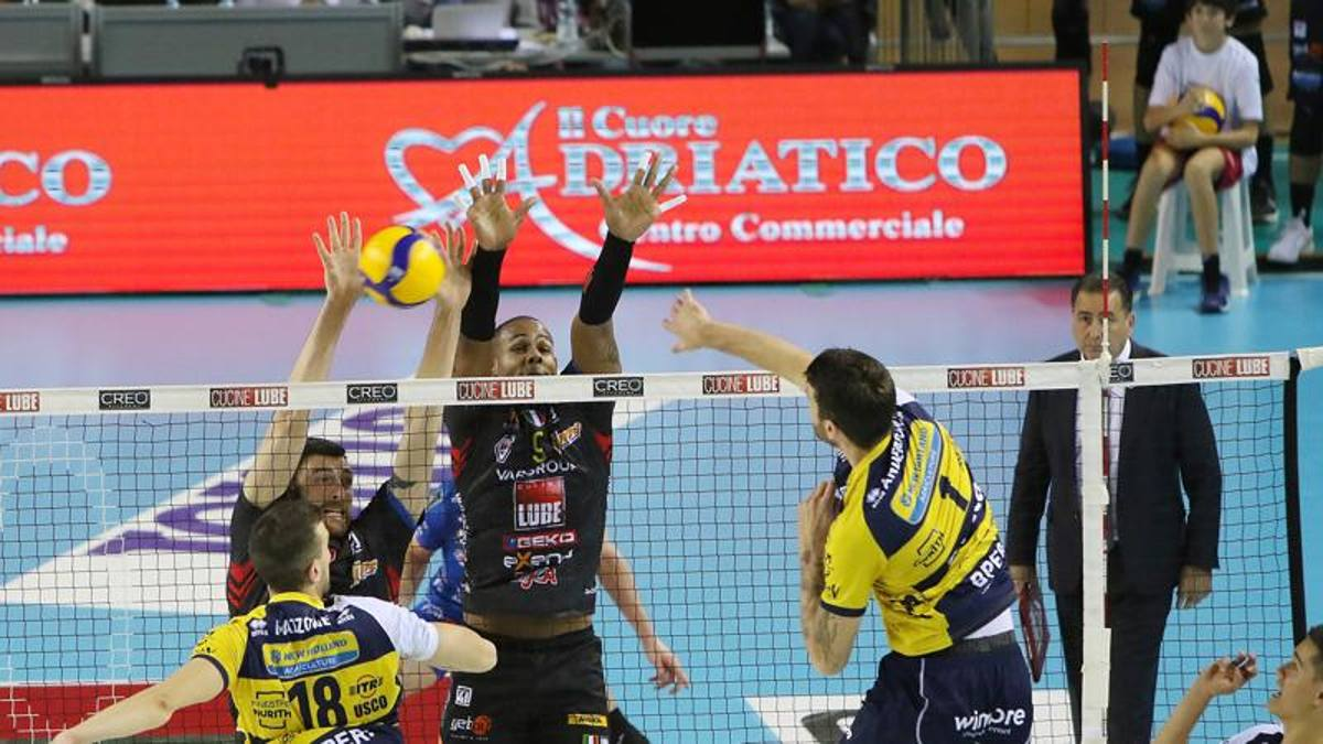 Civitanova stende Modena, che colpi Ravenna e Verona - La Gazzetta dello Sport