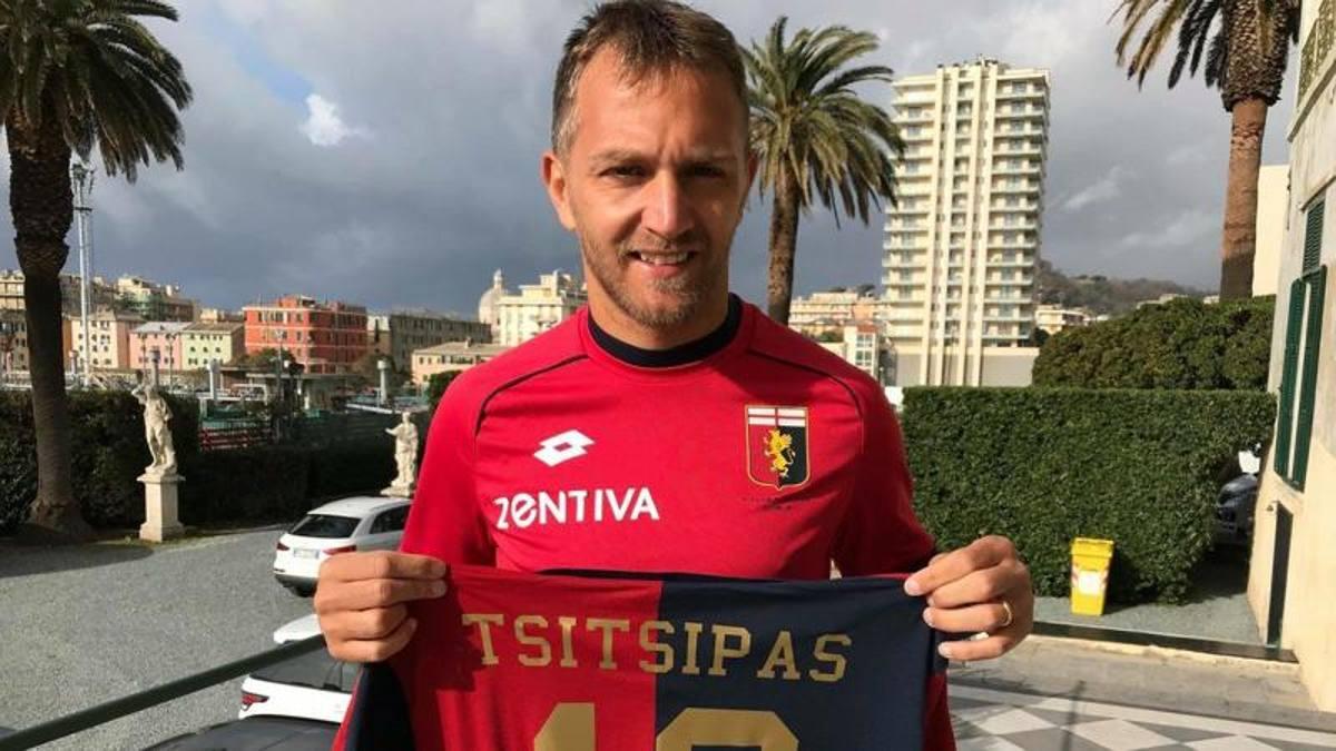 Atp Finals, Tsitsipas vince e il Genoa lo omaggia