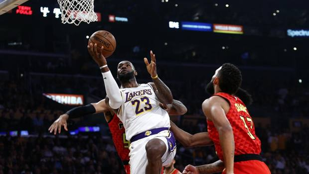 LeBron James, 34 anni, prima stagione ai Lakers. Ap