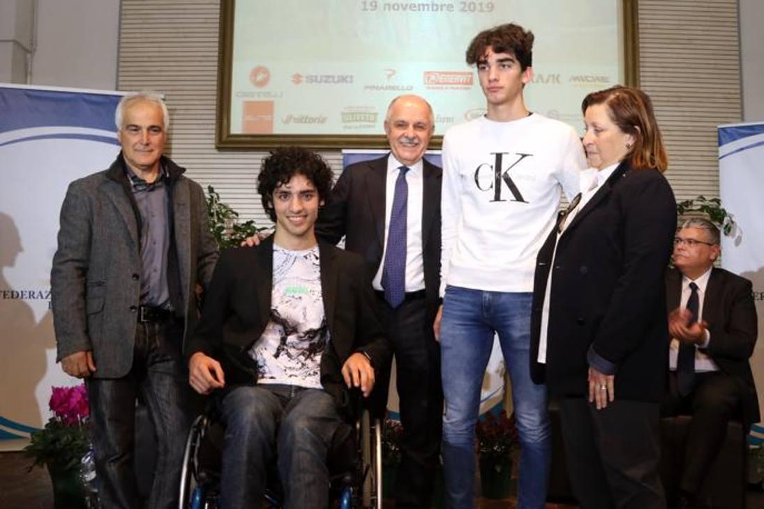 Samuele Manfredi e Lorenzo Gobbo  premiati
