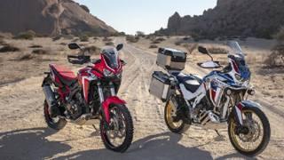 Honda CRF1100L Africa Twin 2020: foto dinamiche e statiche