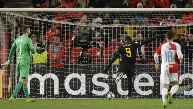 Il gol del 2-1 di Lukaku
