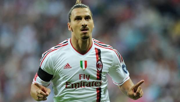 Zlatan Ibrahimovic, 38 anni. Afp