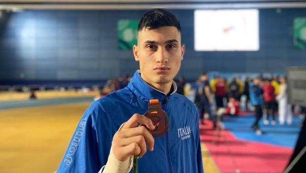 Simone Alessio, bronzo nei -80 kg