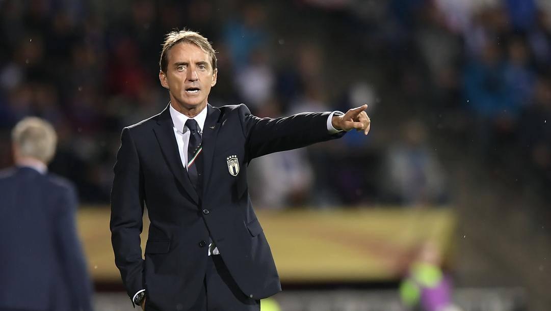 Roberto Mancini è arrivato a 11 vittorie consecutive con la Nazionale, battendo il record di Vittorio Pozzo che durava dal 1938. Lapresse