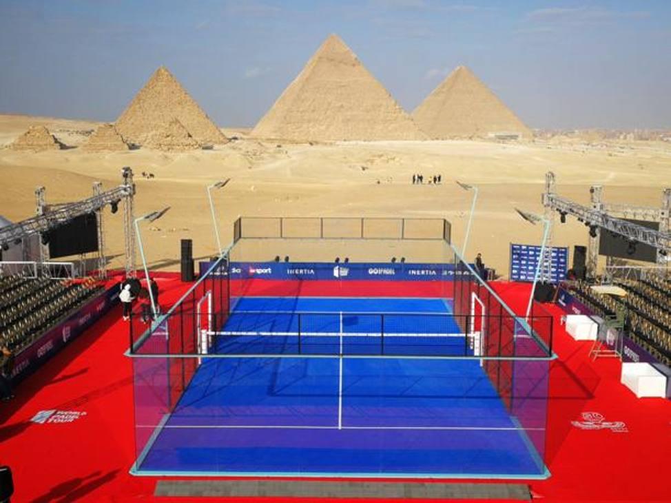 Campioni, anzi... Faraoni. Il World Padel Tour in Egitto per un grande show
