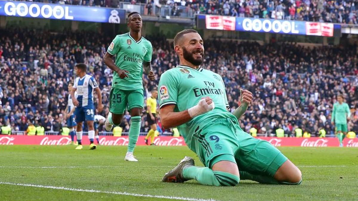 Real Madrid alla francese: Varane e Benzema stendono l'Espanyol ...