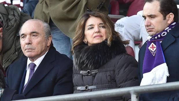 Rocco Commisso in tribuna a Torino