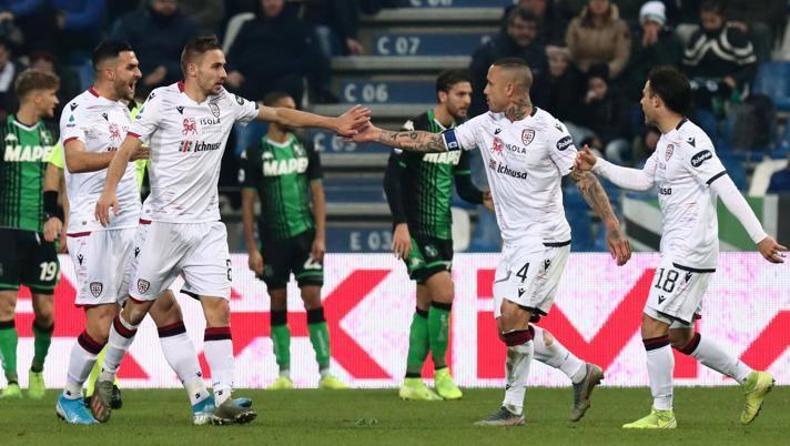 Altra rimonta del Cagliari: Ragatzu trova il 2-2 col Sassuolo al 90'!