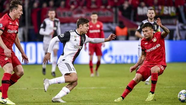 Paulo Dybala in azione