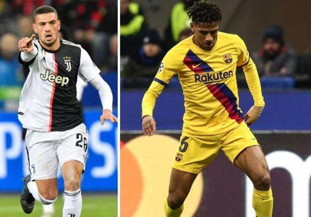 Merih Demiral e Jean-Clair Todibo hanno ben figurato nelle due vittorie in trasferta di Juventus e Barcellona.