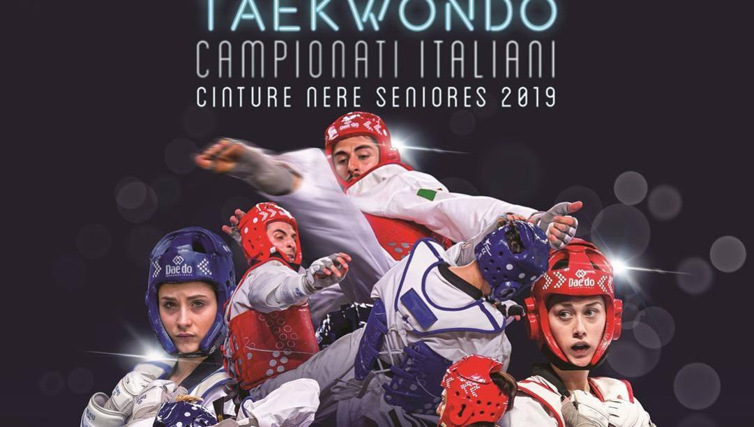 La locandina dei Campionati Italiani 2019