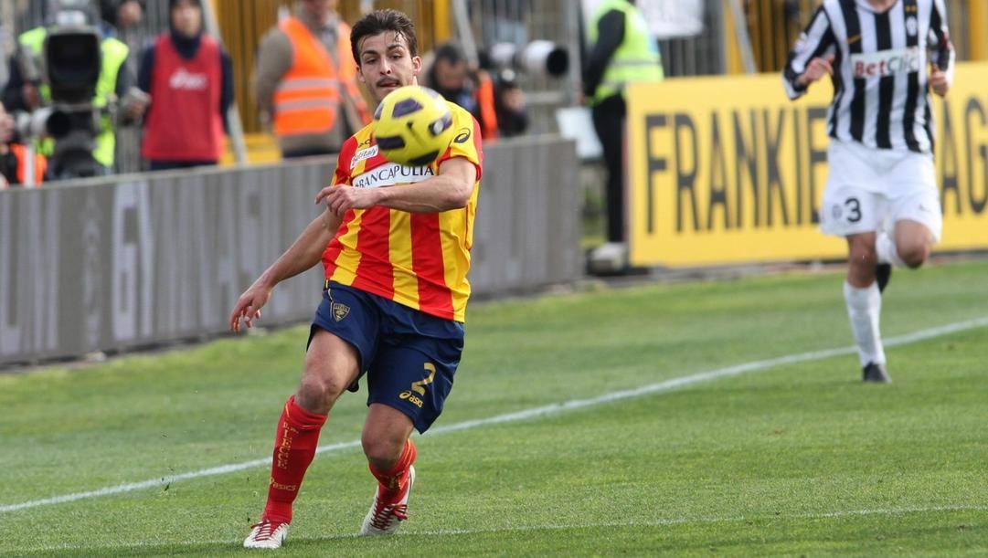 Giulio Donati, 29 anni, aveva già giocato nel Lecce nella stagione 2010/2011