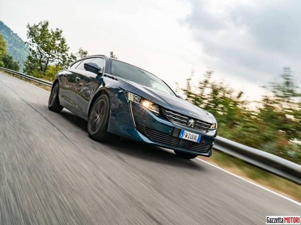 Peugeot 508 SW 2019 prova