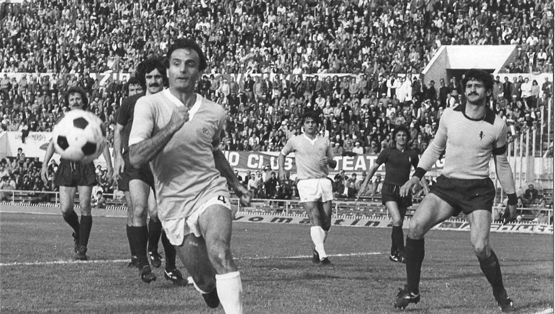 Pino Wilson è stato il capitano della Lazio nella stagione dello scudetto 1974. Archivio Rcs