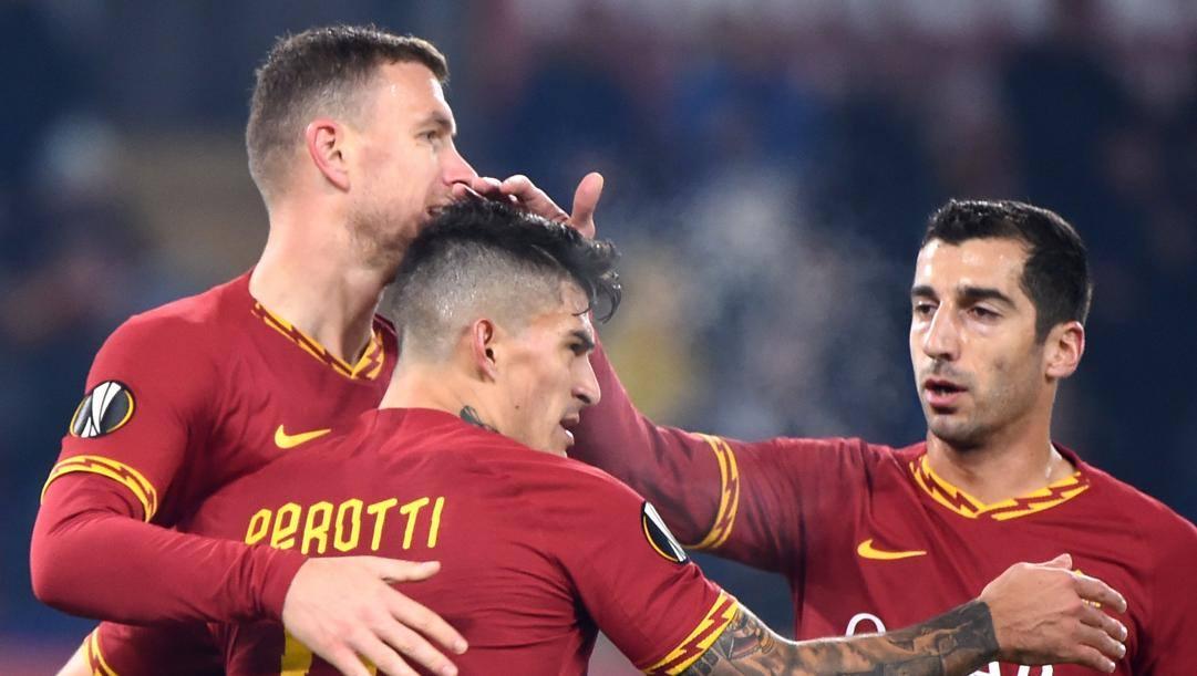 Dzeko, Perotti e Mkhitaryan