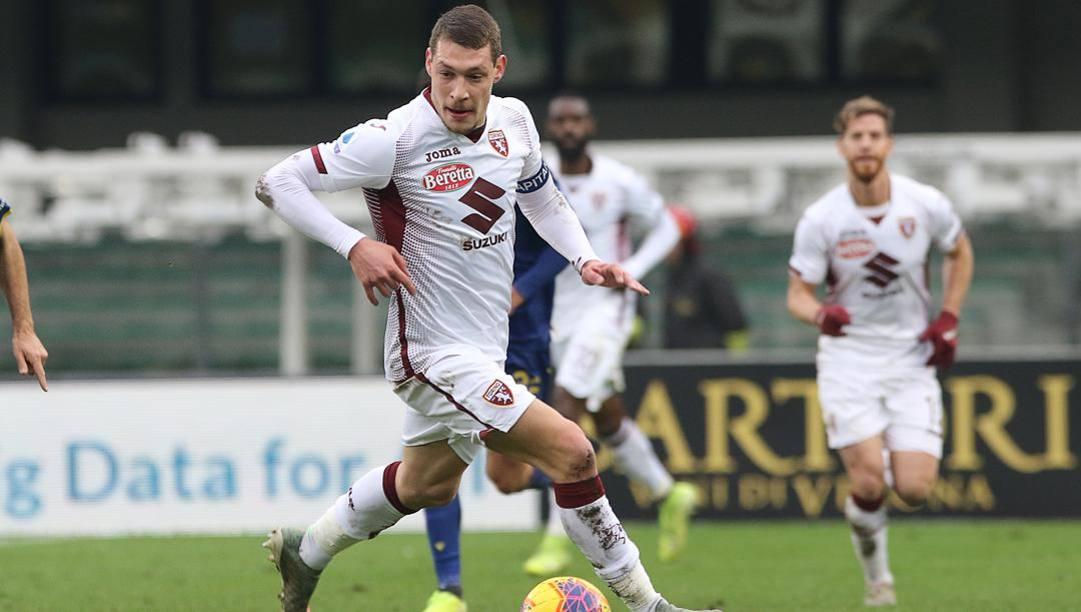 Andrea Belotti, 26 anni, capitano del Torino. Lapresse