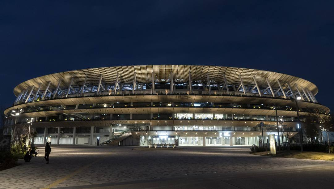 Il New National Stadium di Tokyo. Getty Images