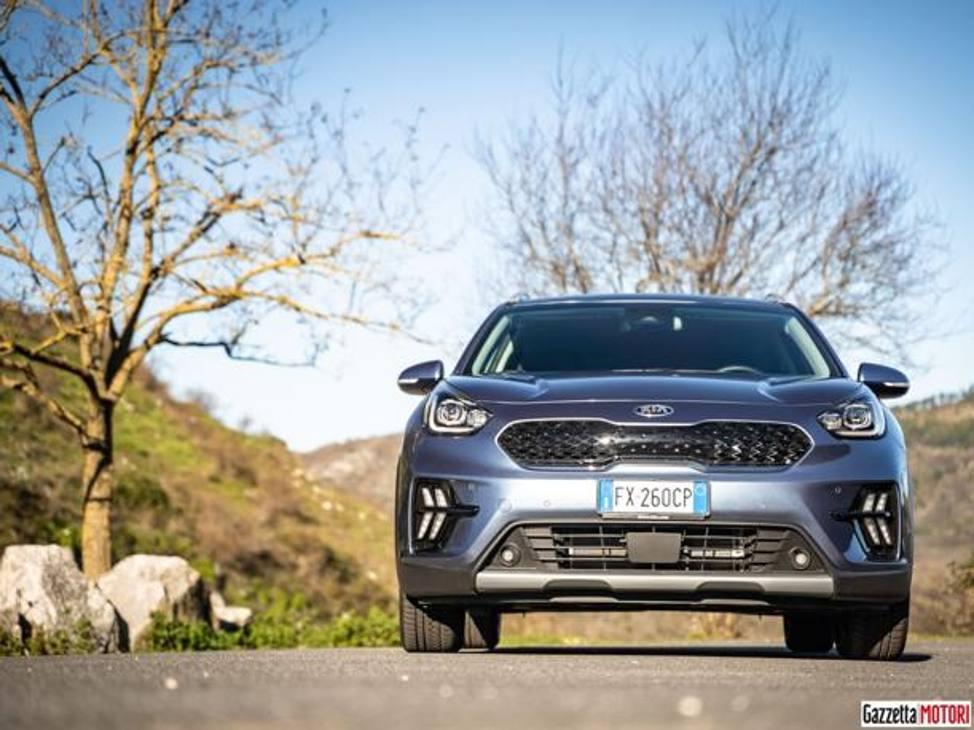 La prova dell'ibrida Kia Niro Eco Plug-in 2019