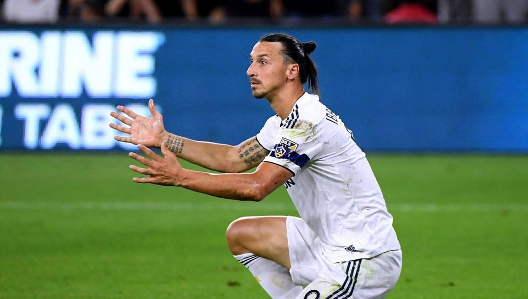 Zlatan Ibrahimovic, 38 anni, due campionati nei Los Angeles Galaxy