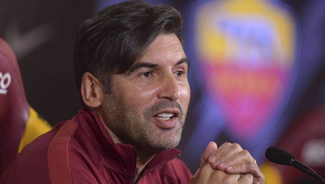 Paulo Fonseca, allenatore della Roma. Lapresse