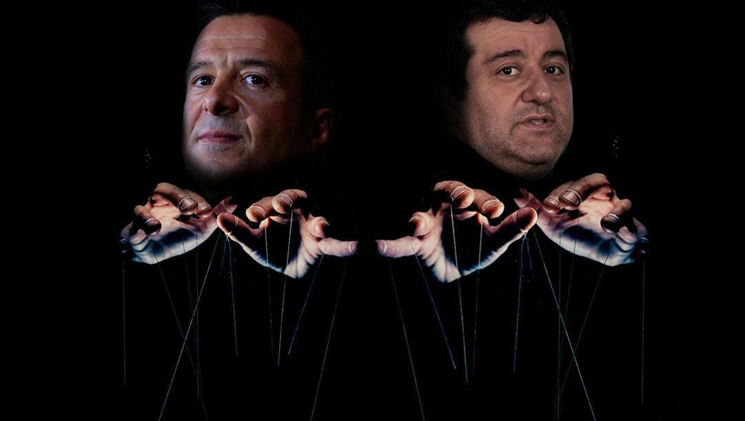 Jorge Mendes e Mino Raiola