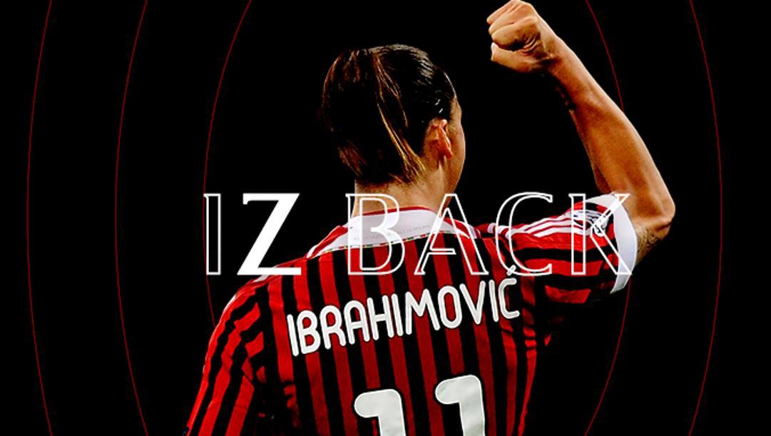 Ibra torna al Milan