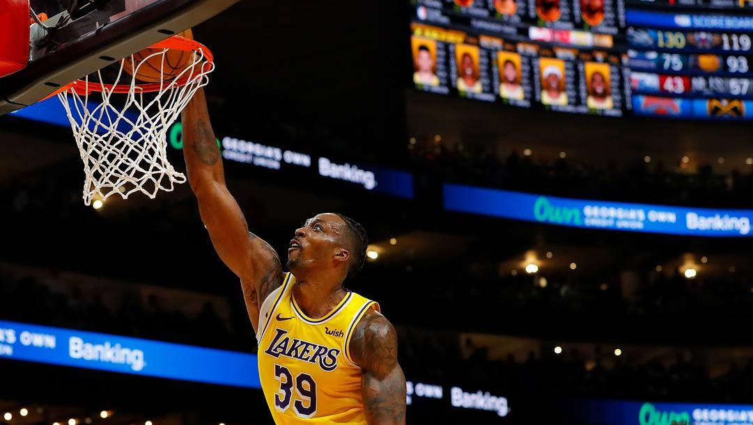 Dwight Howard, 34 anni, in Nba dal 2004. Afp