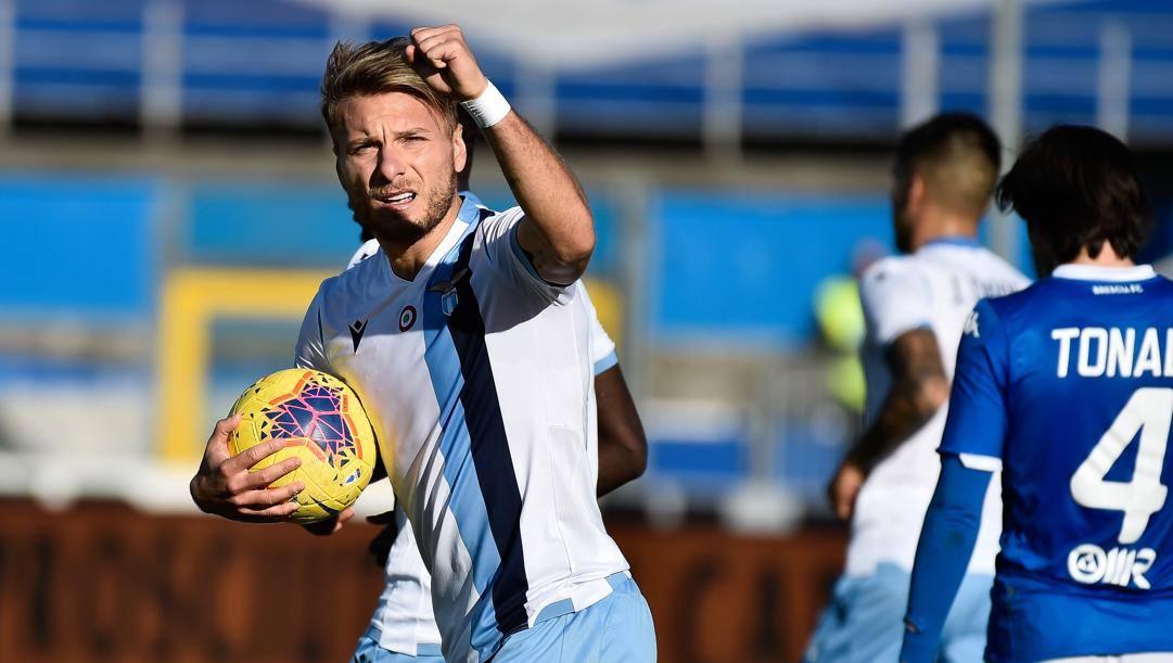 Ciro Immobile, capocannoniere della A con 19 gol.