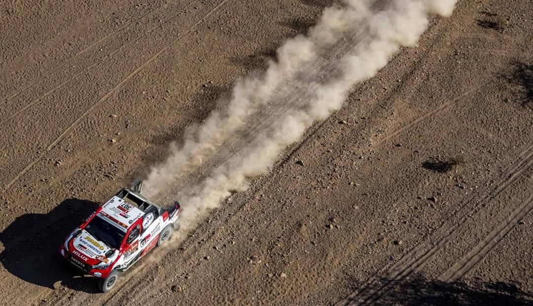 La Toyota di Fernando Alonso. Lapresse