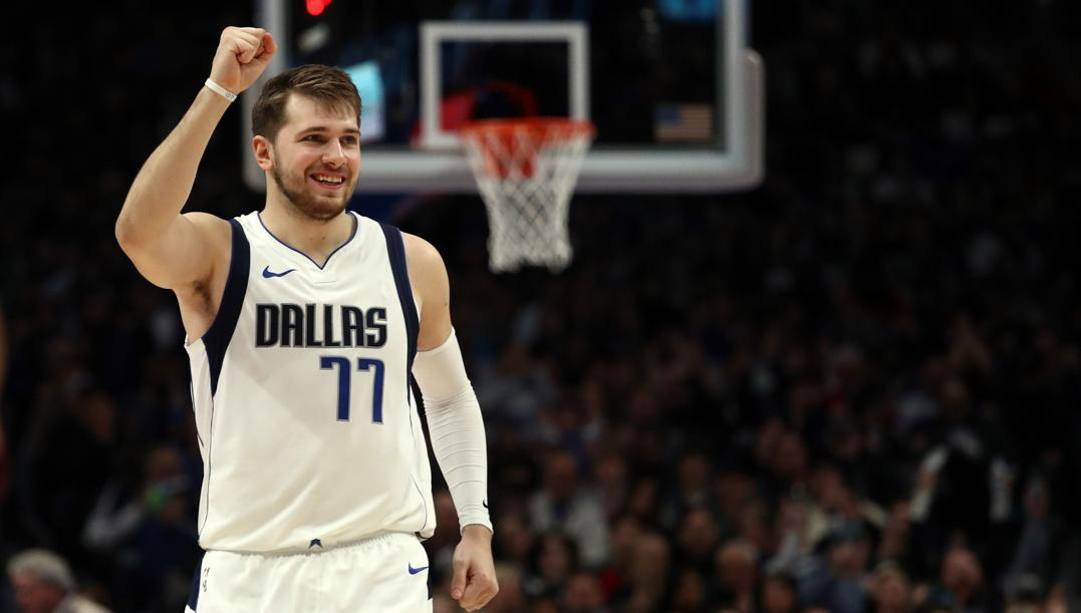 Luka Doncic, 20 anni, in Nba dal 2018. Afp
