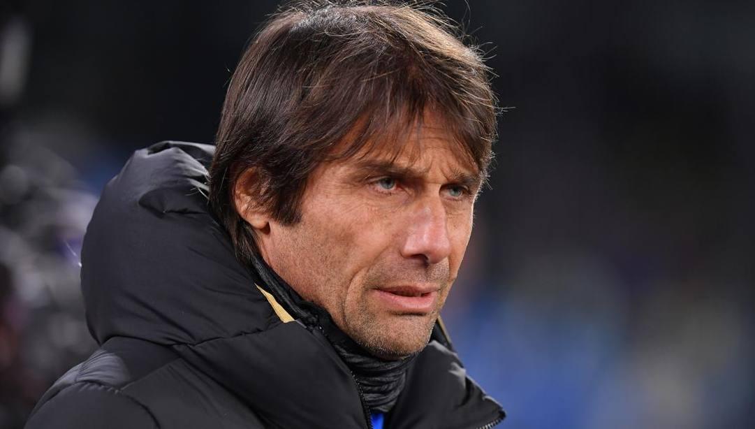 Antonio Conte, 50 anni, allenatore dell'inter. Lapresse