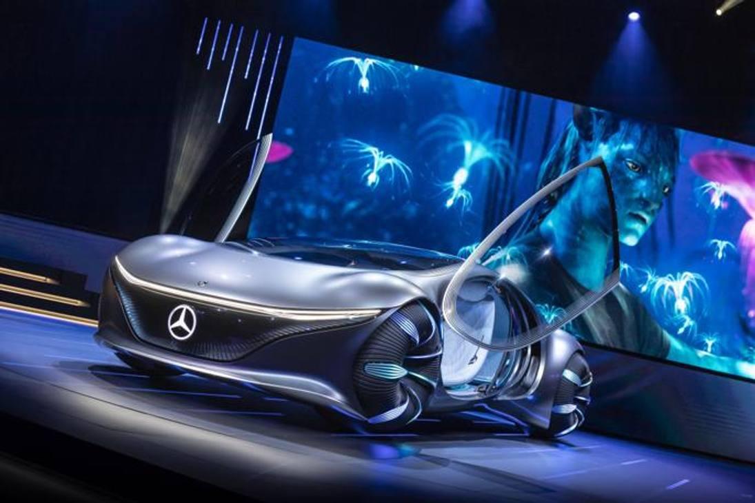 Mercedes Vision AVTR al CES di Las Vegas 2020