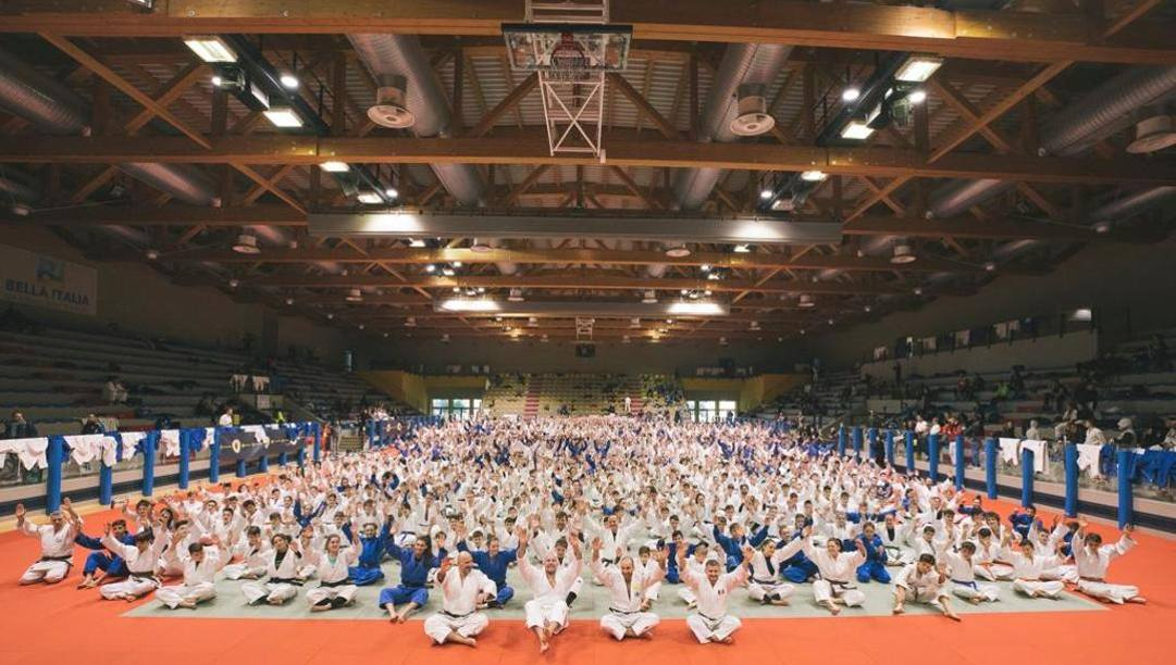 Il Judo Winter Camp nel Bella Italia Village a Lignano