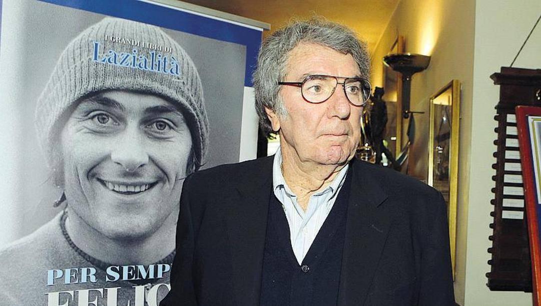 Dino Zoff, 77 anni, ex allenatore e presidente della Lazio