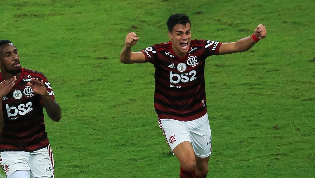 Reinier, 17 anni, trequartista del Flamengo. Getty Images