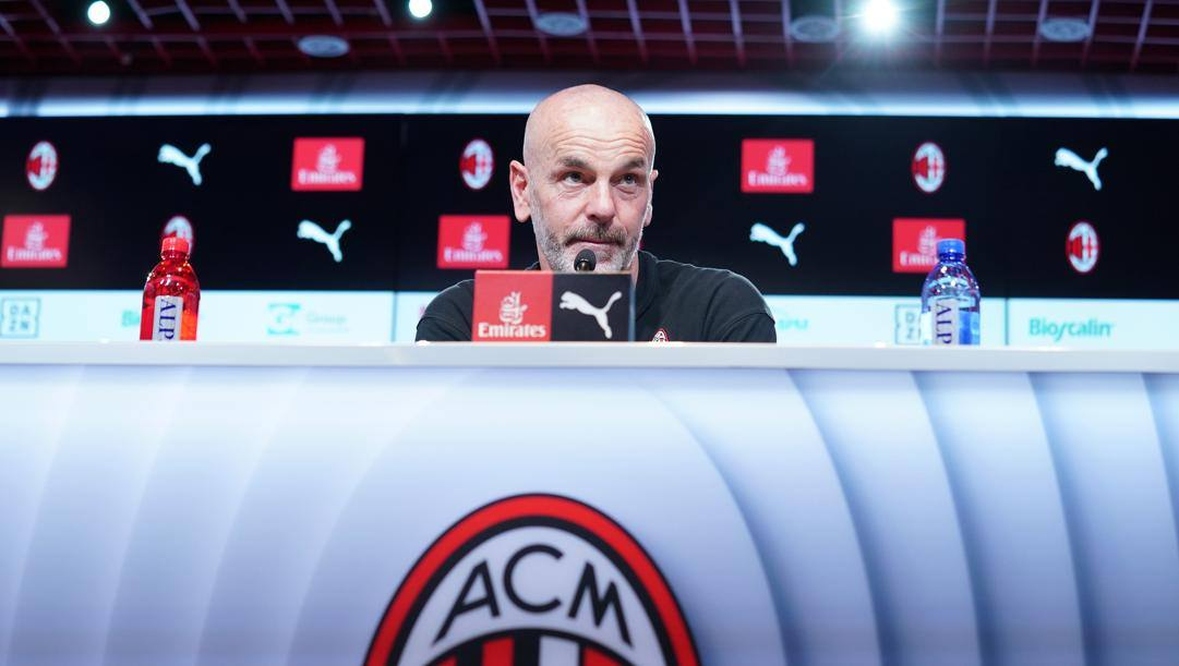 Stefano Pioli, 54 anni, tecnico del Milan. Lapresse