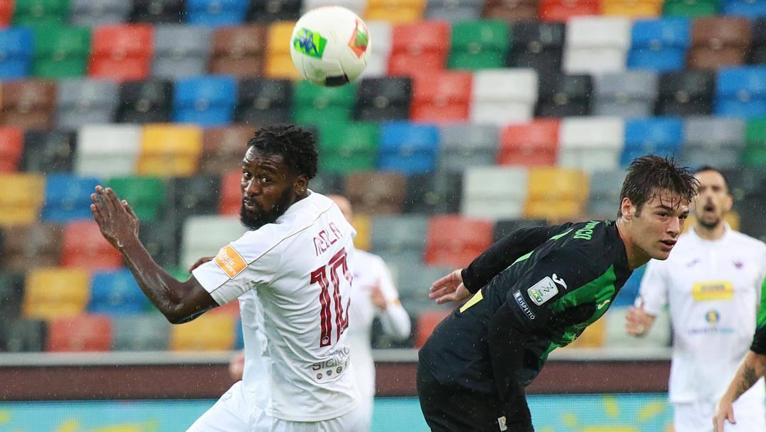 M'Bala Nzola, 23 anni, attaccante passato dal Trapani all'Entella. Lapresse