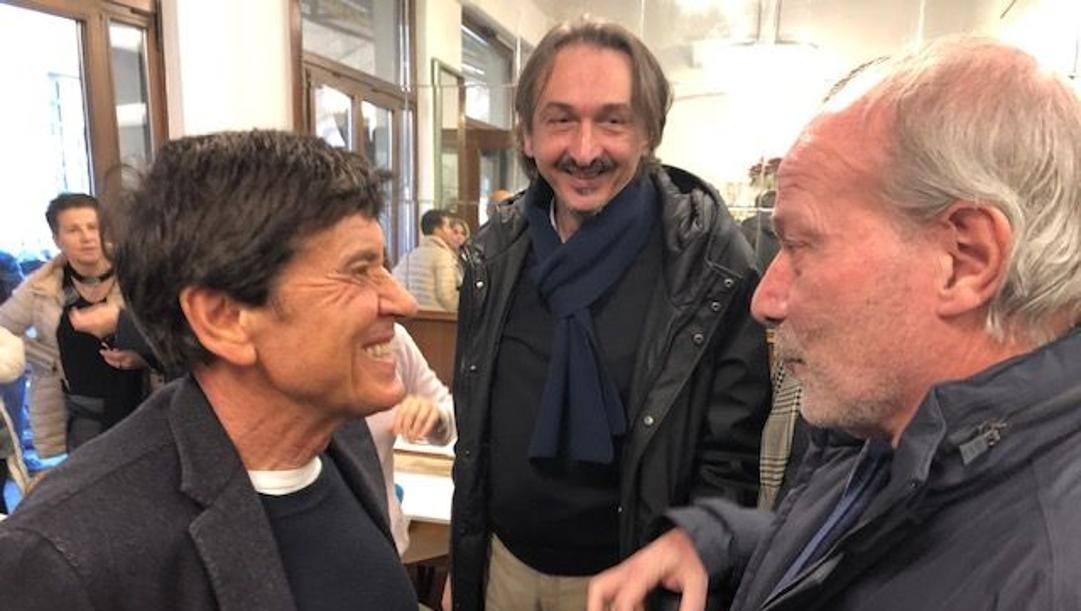 Walter Sabatini con Gianni Morandi