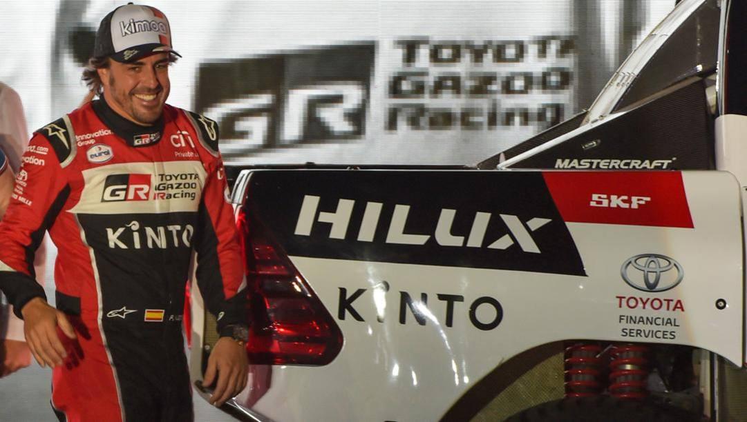 Fernando Alonso, 38 anni. Afp