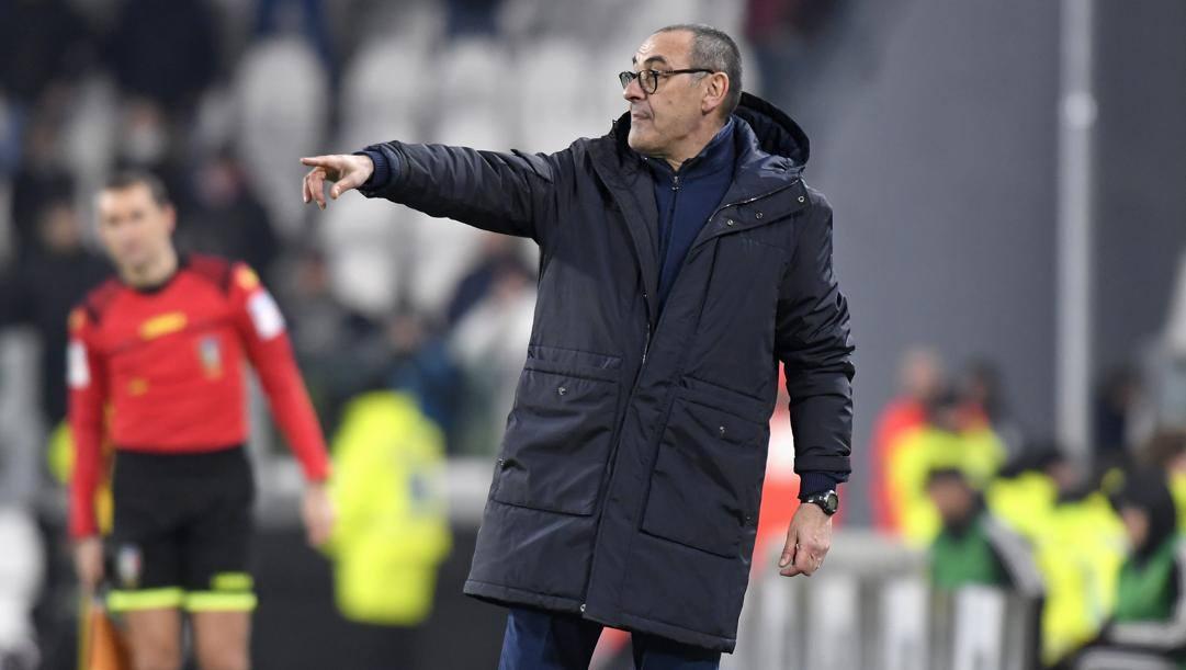Maurizio Sarri, allenatore della Juve. Getty