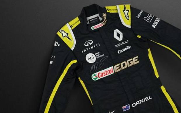 La tuta di Ricciardo messa all'asta per sostenere la raccolta fondi legata agli incendi in Australia