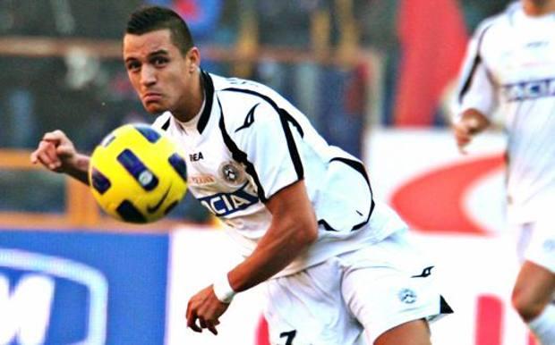 Alexis Sanchez ha fruttato la cessione record per l'Udinese: 38 milioni compresi i bonus. Ap