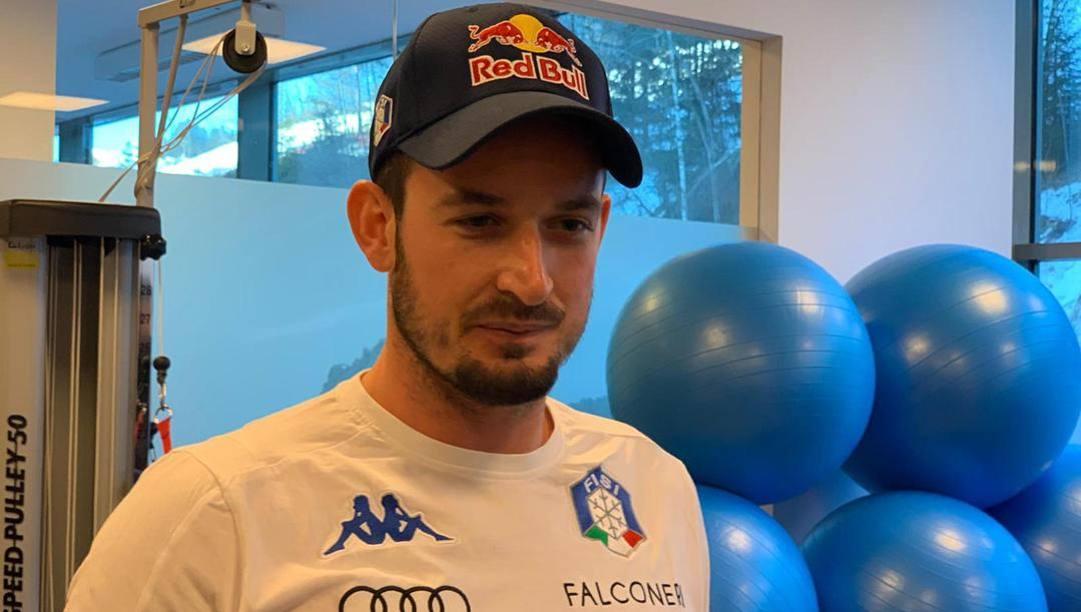 Dominik Paris, 30 anni. Ansa