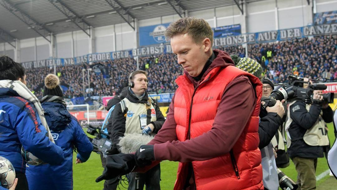 Julian Nagelsmann, 32 anni, tecnico del Lipsia. Afp