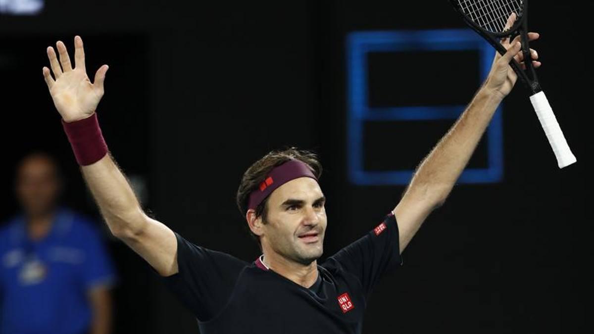 """Le 100 vite di Federer, che si salva a stento con Millman: """"Ho ..."""