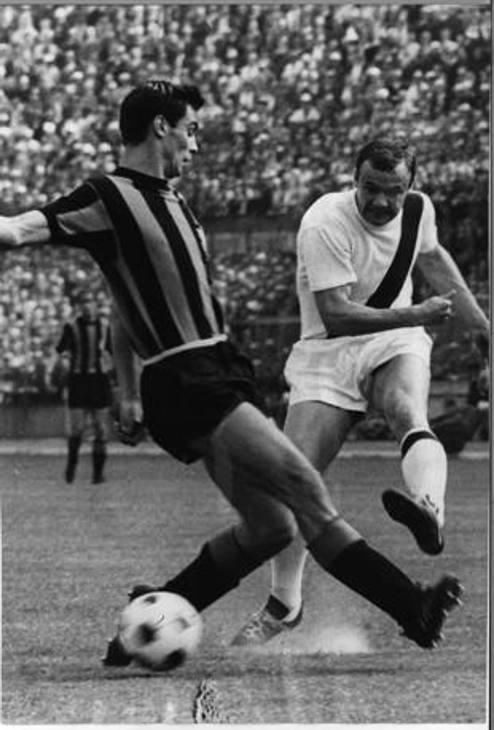 Harald Ingemann Nielsen, scomparso nel 2015: sei stagioni al Bologna, una al Napoli e una all'Inter (1967-1968). OLYMPIA